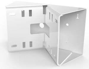 MOBOTIX MX-OPT-MH Mast-/Eckhalter für MX-OPT-WH