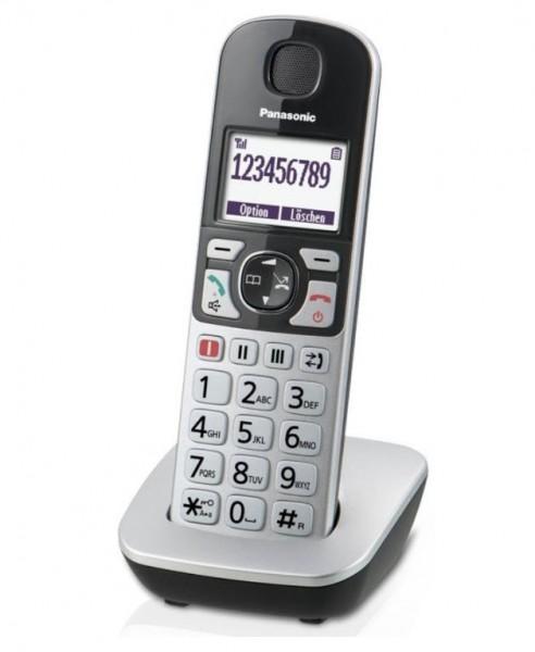 Panasonic IP-Großtasten-Schnurlostelefon KX-TGQ500GS