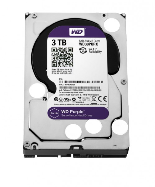 Western Digital Purple 3TB Festplatte