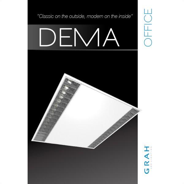 GRAH DEMA II 62/62 Panel für Office Beleuchtung