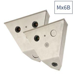 MOBOTIX V16B-Kamera (90°) mit einem B041 Tag-Objektiv (oben links)