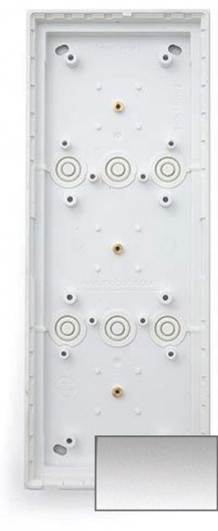 MOBOTIX MX-OPT-Box-3-EXT-ON-SV 3er Aufputzgehäuse, silber