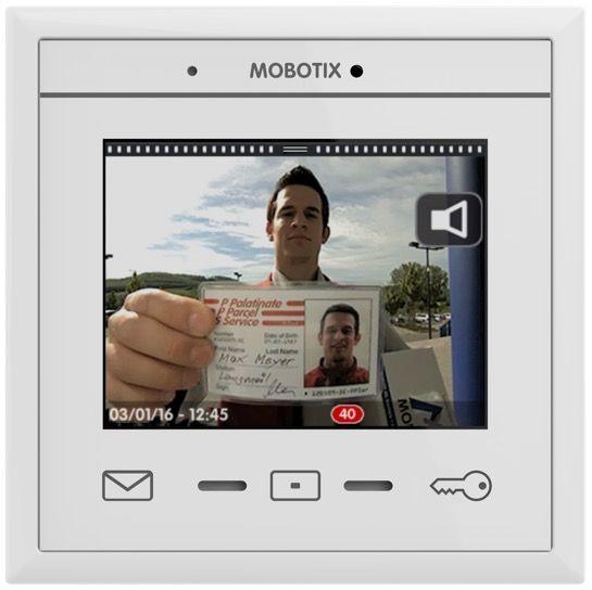 MOBOTIX MX-DISPLAY3 MxDisplay+, weiß