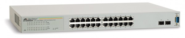 AT-GS950/24 Gigabit Switch, 2x SFP/24x RJ-45