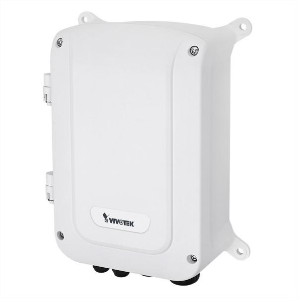 VIVOTEK AW-GET-126A-240 VivoCam L2+ Outdoor 8x PoE Managed Switch, Gesamtleistung 240W, 4x SFP