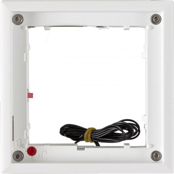 MOBOTIX MX-OPT-FlatMount-EXT-PW FlatMount Frame, weiß