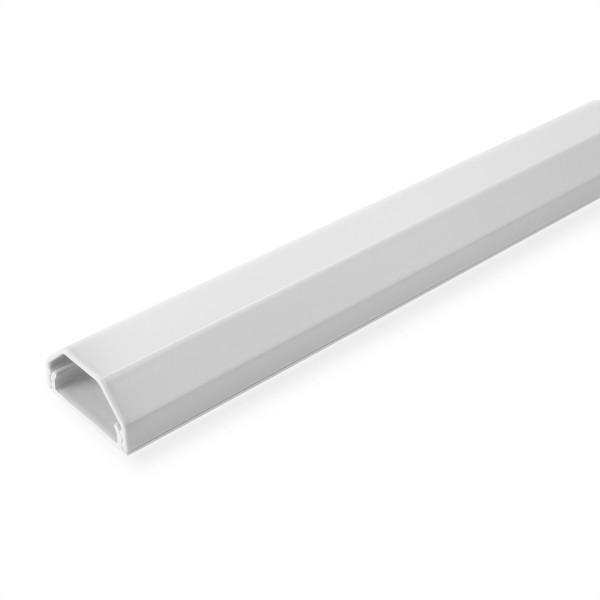 ROLINE Kabelkanal, Aluminium, 33 x 26 mm, weiß, 1,1 m