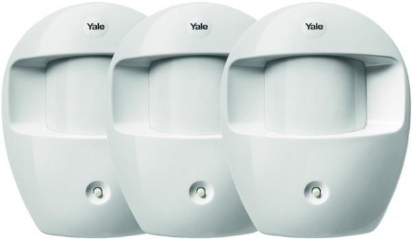 Yale Bewegungsmelder Standard 3er Set