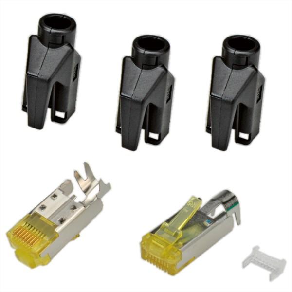 HiRose TM31 Stecker geschirmt, Tülle schwarz, 50 Stück