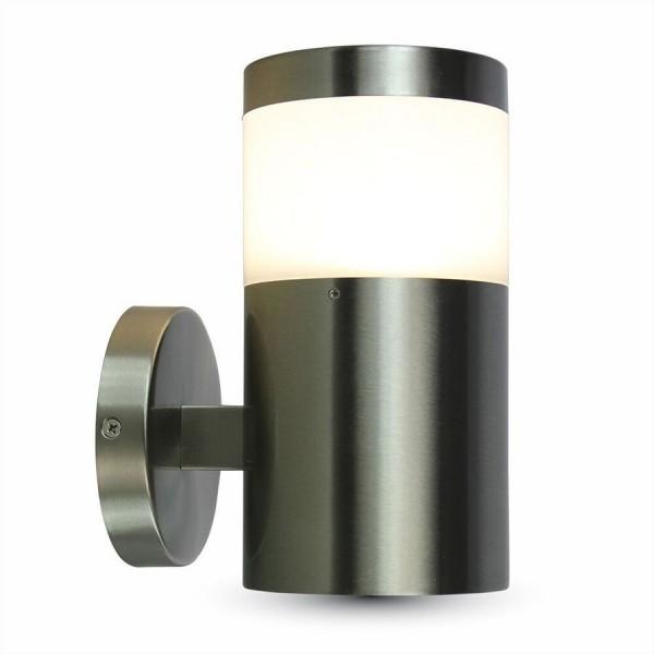 V-TAC LED Wandleuchte Aluminium, Sockel E27, IP44, ohne Leuchtmittel