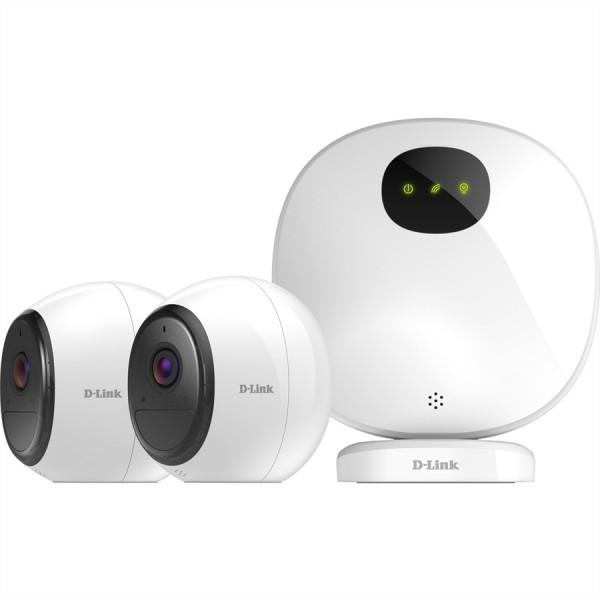 D-Link DCS-2802KT Wi-Fi Battery Kamera Kit