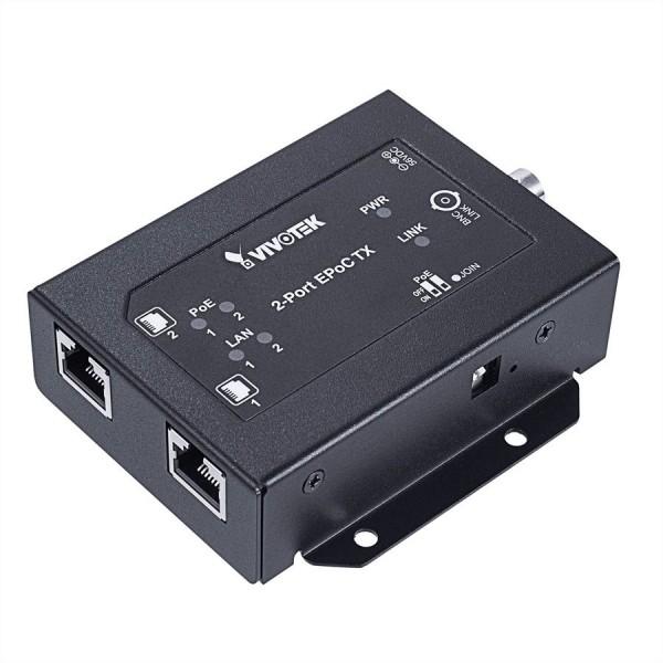 VIVOTEK AP-FEX-0200-T EPoC Tx Modul mit 2 Anschlüssen