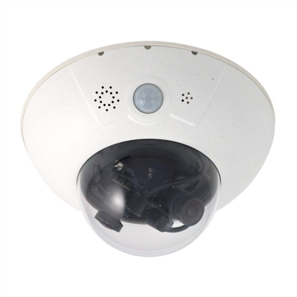 Mobotix D15 DualDome-Kamera 6MP, mit zwei L135 Objektiven (15° Tag/Nacht)