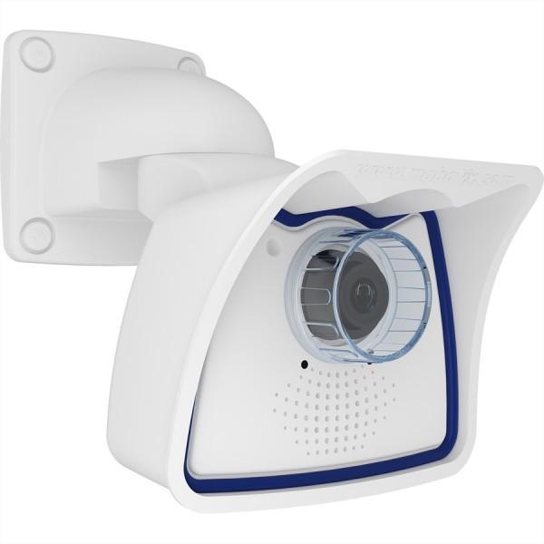 MOBOTIX M26B AllroundMono Kamera 6MP mit B041 Objektiv (90° Tag), IP66 und IK10