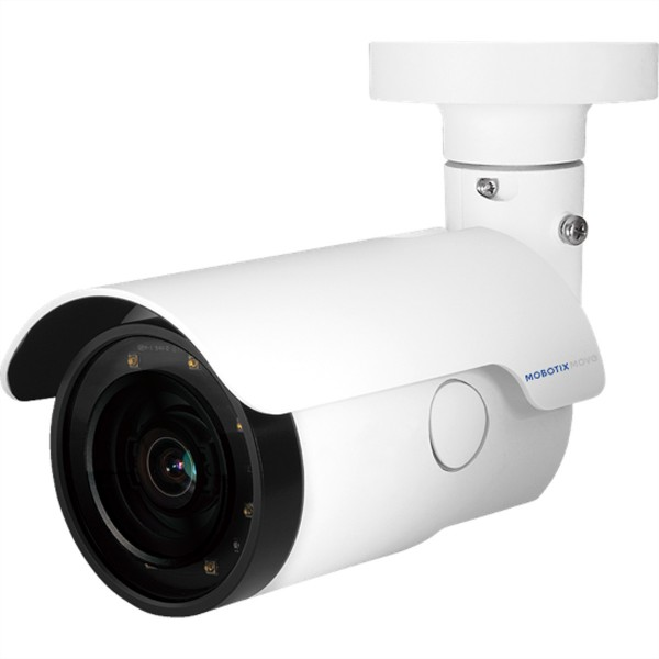MOBOTIX MOVE Bullet Kamera 4MP, IP66/IK10, 13.7W, WDR, IR, 2.7-12mm (31-99°)