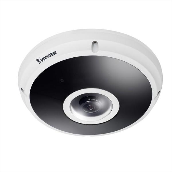 VIVOTEK FE9382-EHV, 5MP, 30 fps, H.265, 20M IR, Fisheye, EN50155, IP66, IK10