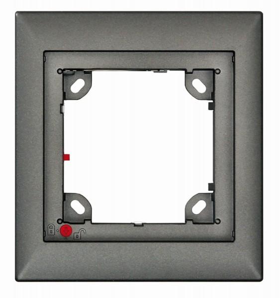 MOBOTIX MX-OPT-Frame-1-EXT-DG 1er Rahmen, dunkelgrau