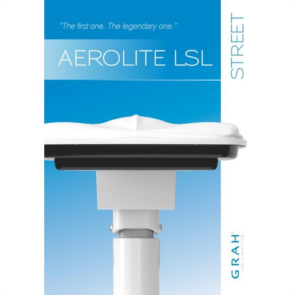 GRAH AEROLITE LSL L Straßenleuchte 14.700lm (121 Watt)