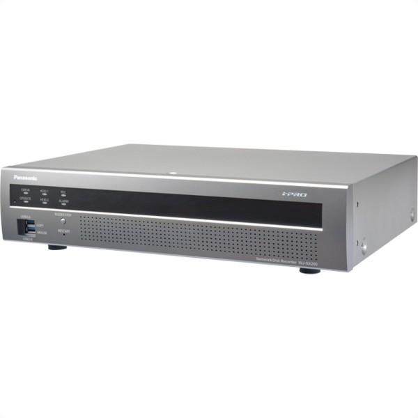 PANASONIC WJ-NX200/12TB NDR H.265 max. 4K inkl. 9 Ch. (bis 32 erweiterbar) 2x HDMI