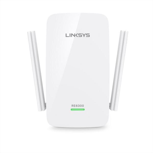 Linksys RE6300 AC750 Range Extender Dual-Band, Gigabit Ethernet Port