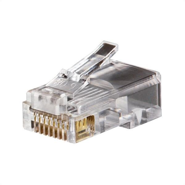 KLEIN TOOLS VDV826-602 Modular-Datenstecker RJ45 CAT5e, 50 Stück