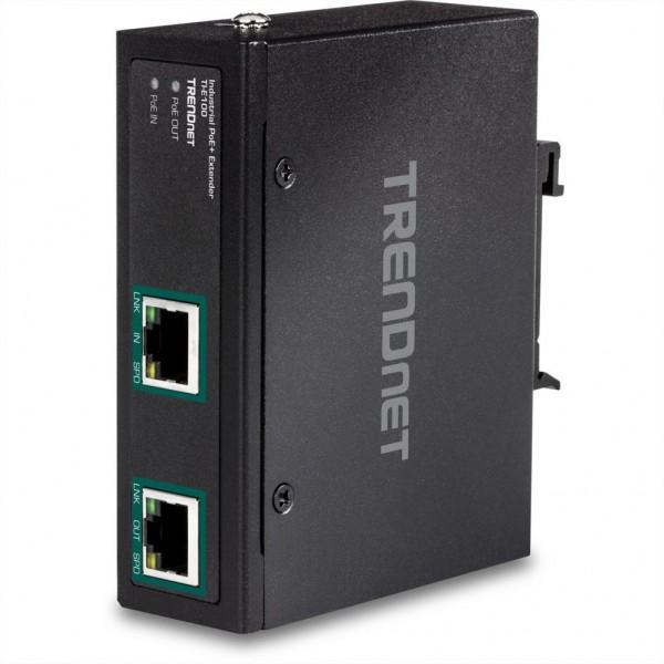 TRENDnet Industrial Gigabit PoE+ Extender