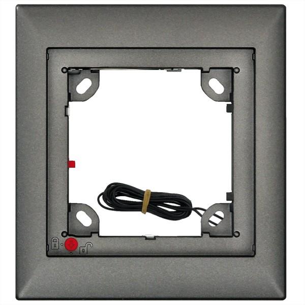 MOBOTIX 1er Rahmen dunkelgrau (MX-OPT-Frame1-EXT-DG)