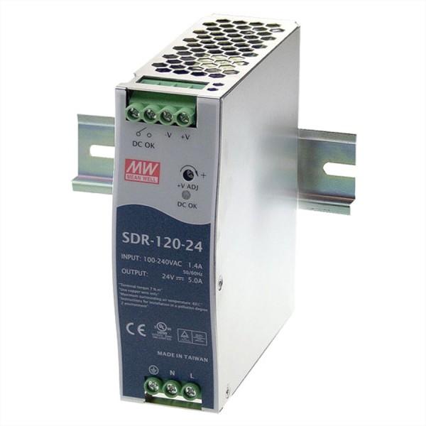 Mean Well SDR-120-48 Hutschienennetzteil 120W 48V DC