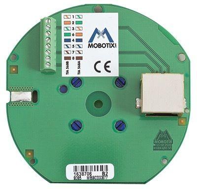 MOBOTIX MX-OPT-IO2 Ethernet Anschlussplatine