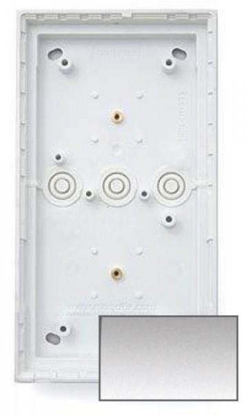 MOBOTIX MX-OPT-Box-2-EXT-ON-SV 2er Aufputzgehäuse, silber