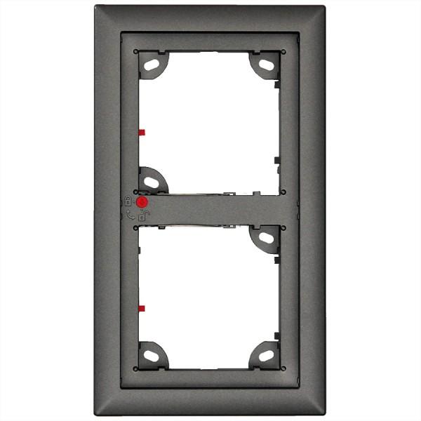 MOBOTIX 2er Rahmen dunkelgrau (MX-OPT-Frame2-EXT-DG)