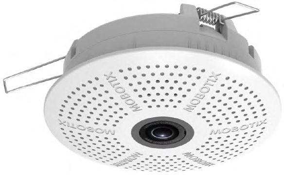 MOBOTIX c25-Indoor-Deckenkamera 6MP, mit B016 Objektiv (180°/360° Nacht) IP20, AUDIO