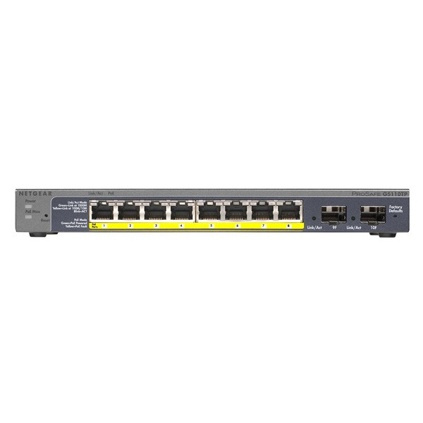 GS110TP Prosafe Gigabit Smart PoE Switch