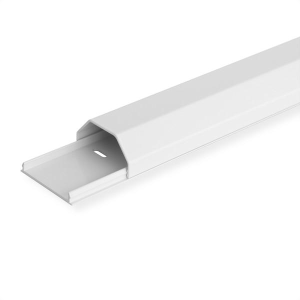 ROLINE Kabelkanal, Aluminium, 50 x 26 mm, weiß, 1,1 m
