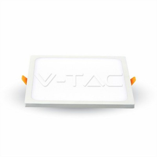 V-TAC LED Einbaupanel Eckig 22Watt 3000K, 2200lm, 110°, 170x170x27mm, inkl. NT, A+