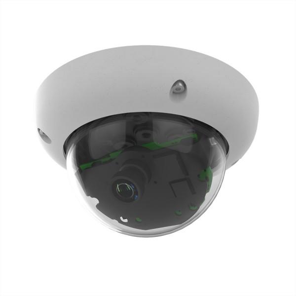 MOBOTIX D26B Dome-Kamera 6MP mit B237 Objektiv (15° Tag), IP66 und IK10