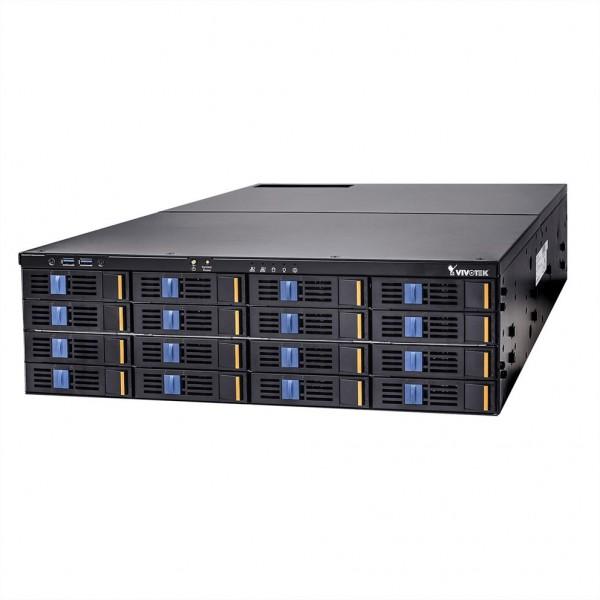 VIVOTEK NR9682 Rackmount NVR 512Mbps 64Ch. 1920x1080@270 FpS 16x HDD, RAID
