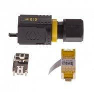 AXIS SPR CONN PUSH PULL PLUG IDC-8 IP67