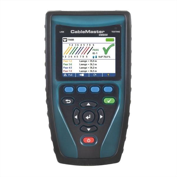 SOFTING CableMaster 800 Profi-Kabel- und Netzwerktester
