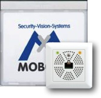 MOBOTIX Infomodul Mx2wire für T24, silber (MX-2wirePlus-Info1-EXT-SV)