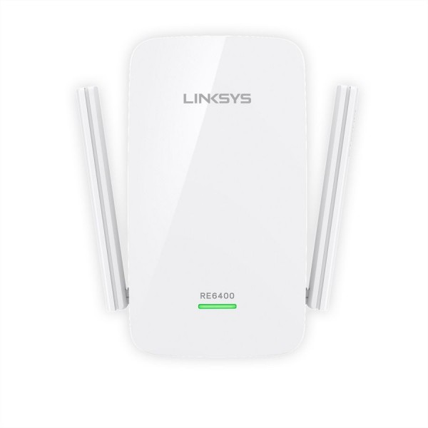 Linksys RE6400 AC1200 Range Extender Dual-Band, Gigabit Ethernet Port