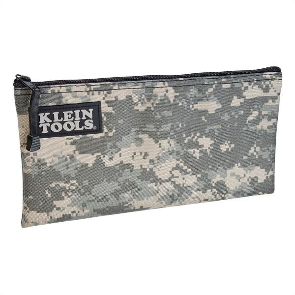 KLEIN TOOLS 5139C Reißverschlusstasche, Nylon, camouflage