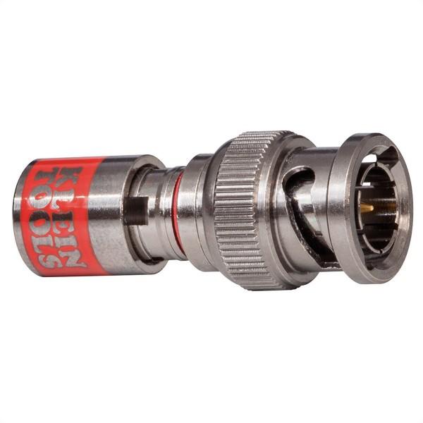 KLEIN TOOLS VDV813-616 Universal BNC-Kompressionssteckverbinder RG59, 10 Stück