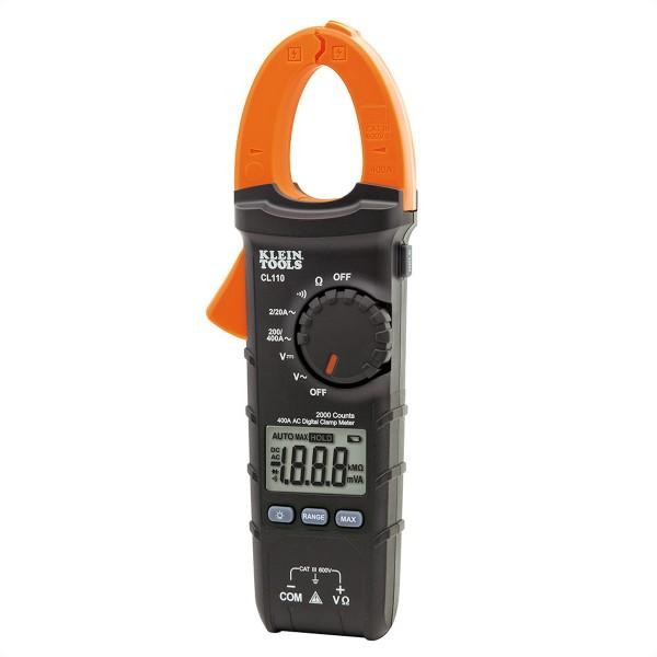 KLEIN TOOLS CL110 Digitale Stromzange, 400 A AC mit automatischer Messbereichswahl