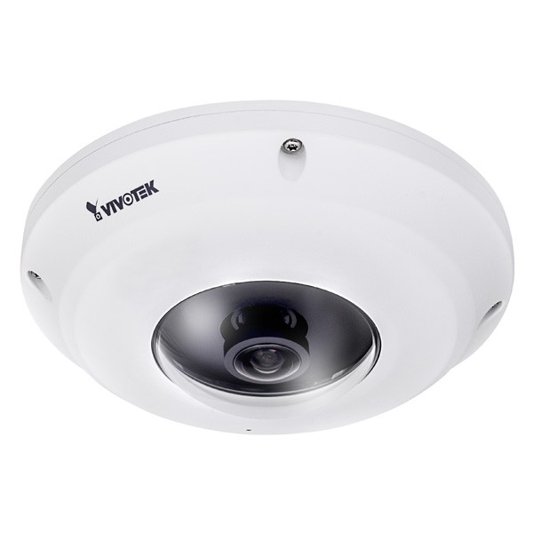 VIVOTEK FE9381-EHV Fisheye IP Kamera, Outdoor, 5MP, 360°, PoE, IP66, IK10, H.265