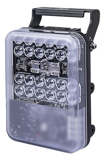 VIVOTEK CM48W5-1040 CaMate Serie IR-Strahler, 100 bis 250m, 10° x 40°, Weißlicht 5000K