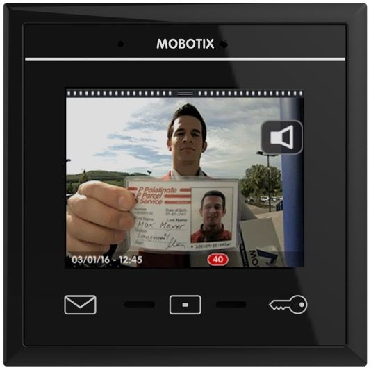 MOBOTIX MX-DISPLAY3-b MxDisplay+, schwarz
