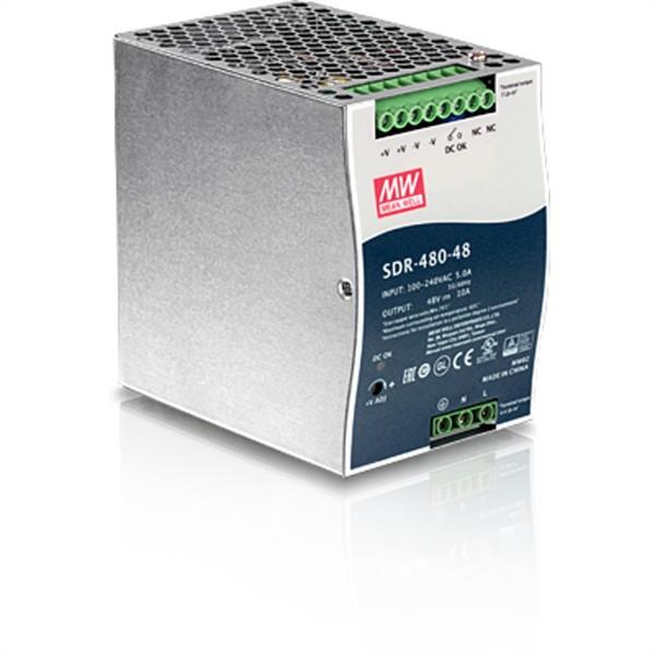 TRENDnet TI-S48048 AC-zu-DC DIN-Schienen-Netzteil