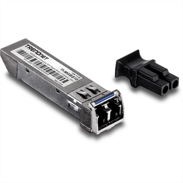 TRENDnet TI-MGBS10 GBIC Single-Mode LC Industrial Module 10km
