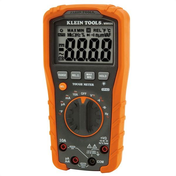 KLEIN TOOLS MM600 Digital Multimeter, automatische Bereichseinstellung 1000V